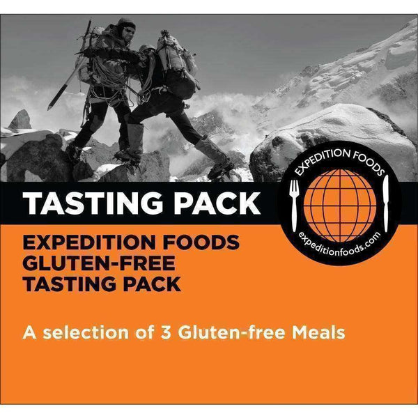 Expedition Foods, Expedition Foods - Gluten Free Tasting Pack (High Energy), Freeze Dried Meals, Wylies Outdoor World,