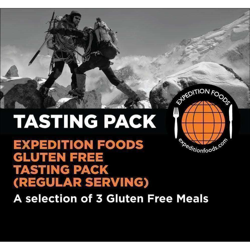 Expedition Foods, Expedition Foods - Gluten Free Tasting Pack (Regular Serving), Freeze Dried Meals, Wylies Outdoor World,