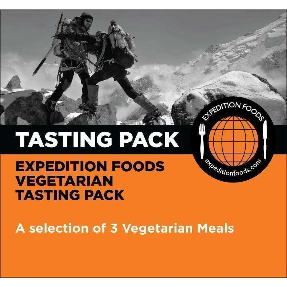 Expedition Foods, Expedition Foods - Vegetarian Tasting Pack (High Energy), Freeze Dried Meals, Wylies Outdoor World,