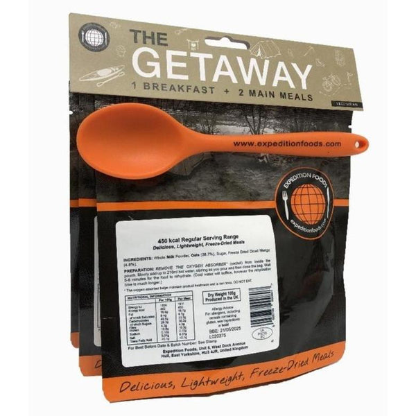 Expedition Foods, Expedition Foods - The Getaway Pack (Regular), 24 Hour Rations,Wylies Outdoor World,