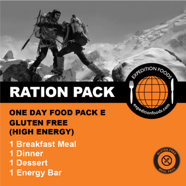 Expedition Foods, Expedition Foods - One Day Pack E (Gluten Free), Day Ration Packs,Wylies Outdoor World,