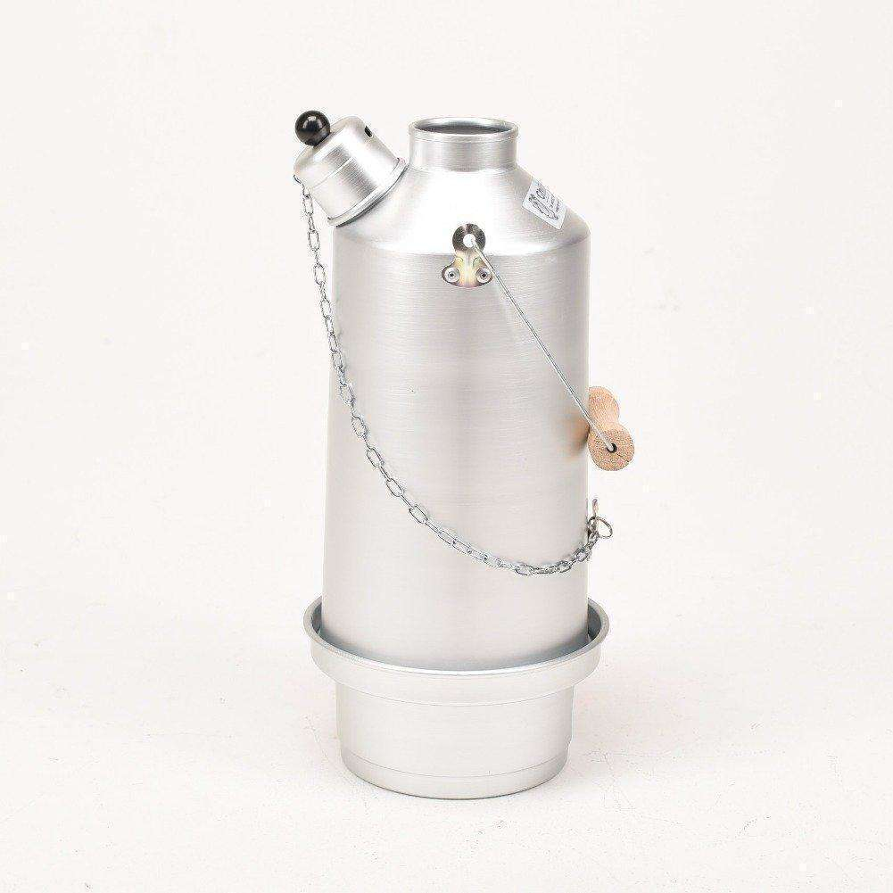 Ghillie Kettle, Ghillie Kettle - Adventurer Silver Anodized, Storm Kettles, Wylies Outdoor World,