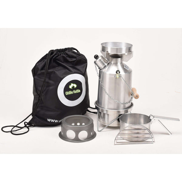 Ghillie Kettle, Ghillie Kettle - Explorer, Cook Kit & Hobo Stove, Cook Systems, Wylies Outdoor World,