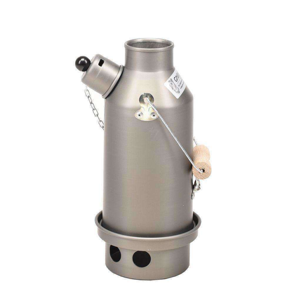 Ghillie Kettle, Ghillie Kettle - Explorer Silver Anodized, Storm Kettles, Wylies Outdoor World,