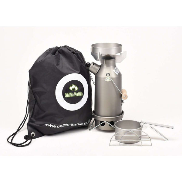 Ghillie Kettle, Ghillie Kettle - Maverick & Cook Kit, Cook Systems, Wylies Outdoor World,