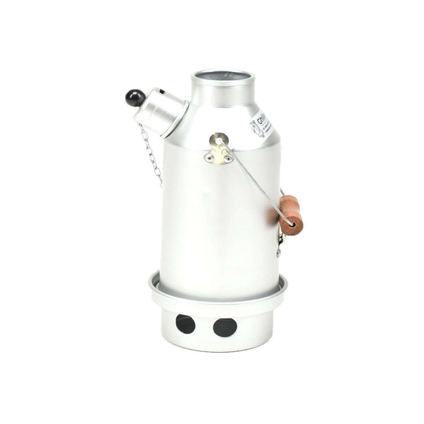 Ghillie Kettle, Ghillie Kettle - The Maverick Silver Anodized, Storm Kettles, Wylies Outdoor World,