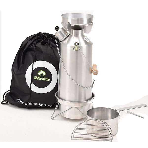 Ghillie Kettle, Ghillie Kettle Adventurer Cook Kit, Cook Systems, Wylies Outdoor World,