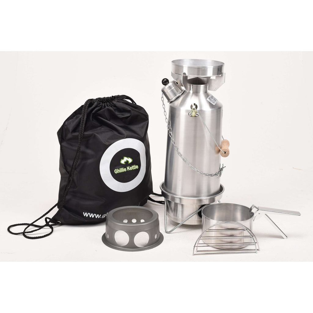 Ghillie Kettle, Ghillie Kettle Adventurer Cook Kit & Hobo Stove, Cook Systems, Wylies Outdoor World,