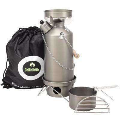 Ghillie Kettle, The Adventurer & Cook Kit - Hard Anodised, Cook Systems, Wylies Outdoor World,