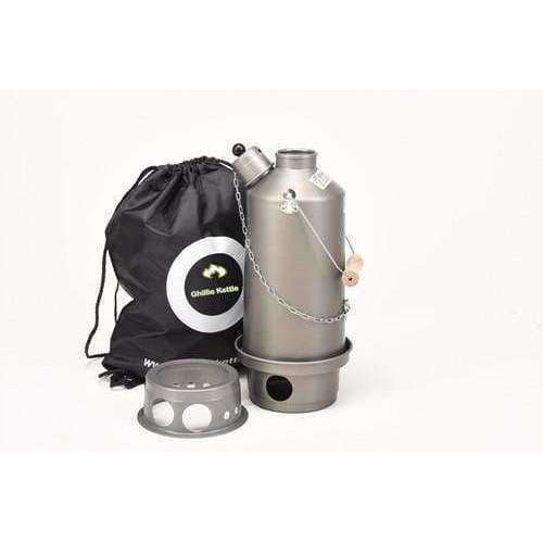 Ghillie Kettle, The Adventurer & Hobo Stove - Hard Anodised, Cook Systems, Wylies Outdoor World,
