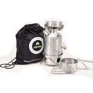 Ghillie Kettle, The Explorer & Cook Kit - Alumininum., Cook Systems, Wylies Outdoor World,