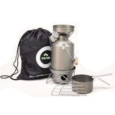 Ghillie Kettle, The Explorer & Cook Kit - Hard Anodised, Cook Systems, Wylies Outdoor World,