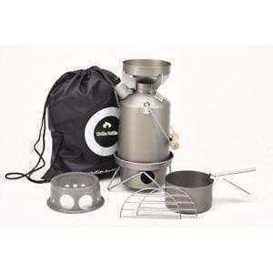 Ghillie Kettle, The Explorer, Cook Kit & Hobo Stove - Hard Anodised, Cook Systems, Wylies Outdoor World,
