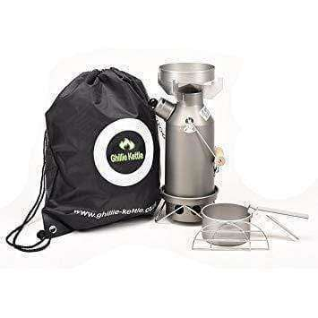 Ghillie Kettle, The Maverick & Cook Kit - Hard Anodised, Cook Systems, Wylies Outdoor World,