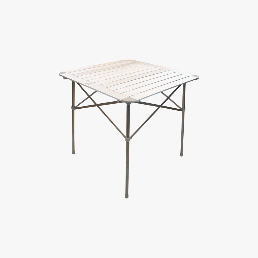 Highlander, Highlander Aluminium Slat Folding Table, Tables,Wylies Outdoor World,