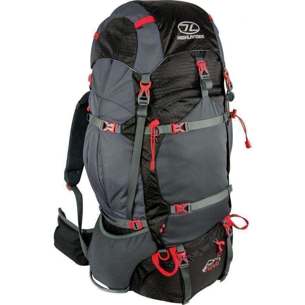 Highlander, Highlander Ben Nevis 65 Litre Rucksack, Rucksacks/Packs, Wylies Outdoor World,