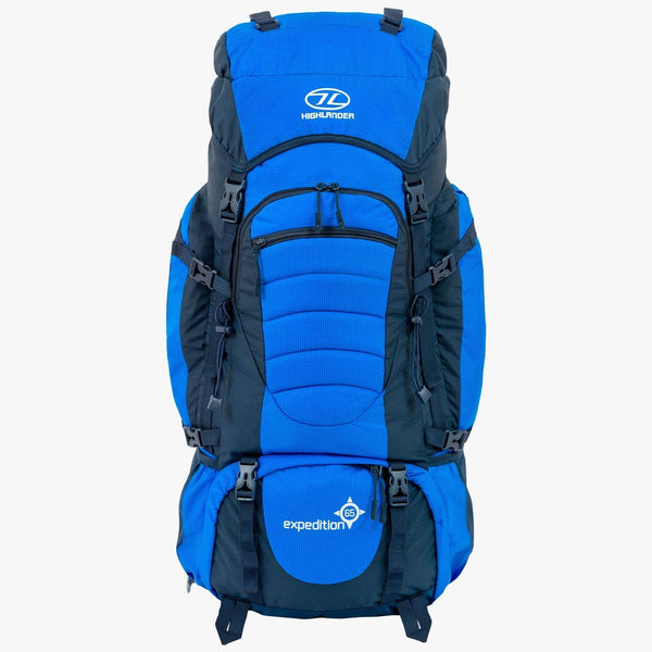 Highlander, Highlander Expedition 65 Litre Rucksack, Rucksacks/Packs,Wylies Outdoor World,