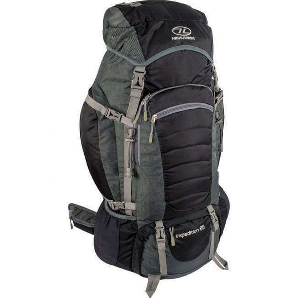 Highlander, Highlander Expedition 85 Litre Rucksack, Rucksacks/Packs,Wylies Outdoor World,