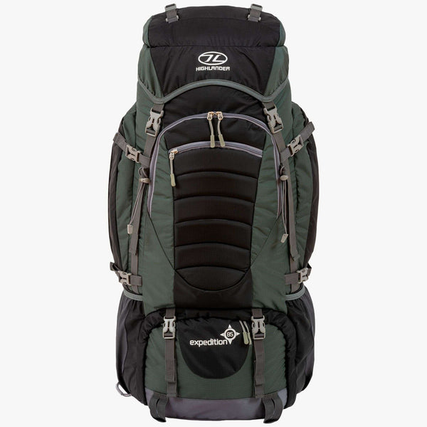 Highlander, Highlander Expedition 85 Litre Rucksack, Rucksacks/Packs, Wylies Outdoor World,