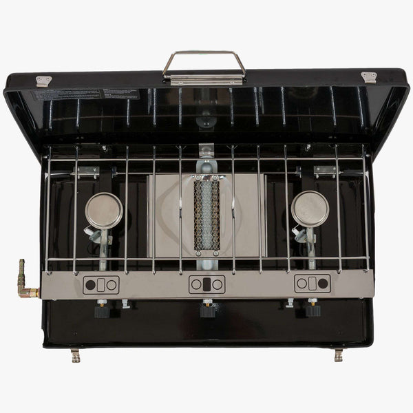 Highlander, Highlander Folding Double Burner/Grill, Cook Systems, Wylies Outdoor World,