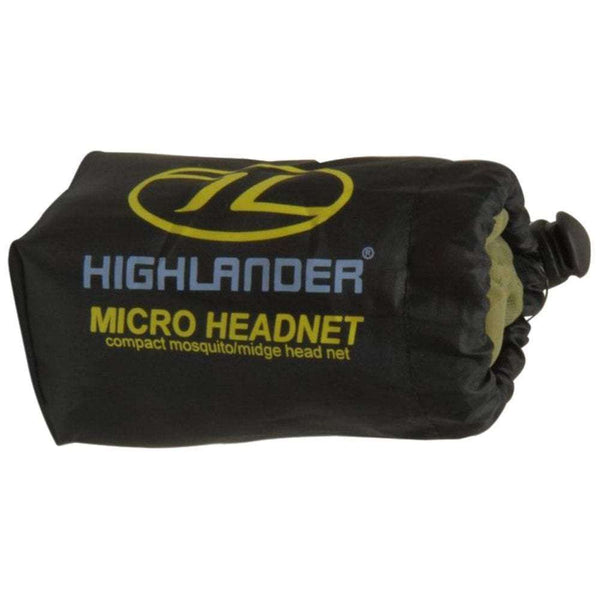 Highlander, Highlander Mosquito and Midge Micro Head Net, Insect Repellant, Wylies Outdoor World,