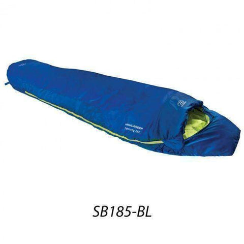Highlander, Highlander Serenity 250 Sleeping Bag, Sleeping Bags, Wylies Outdoor World,
