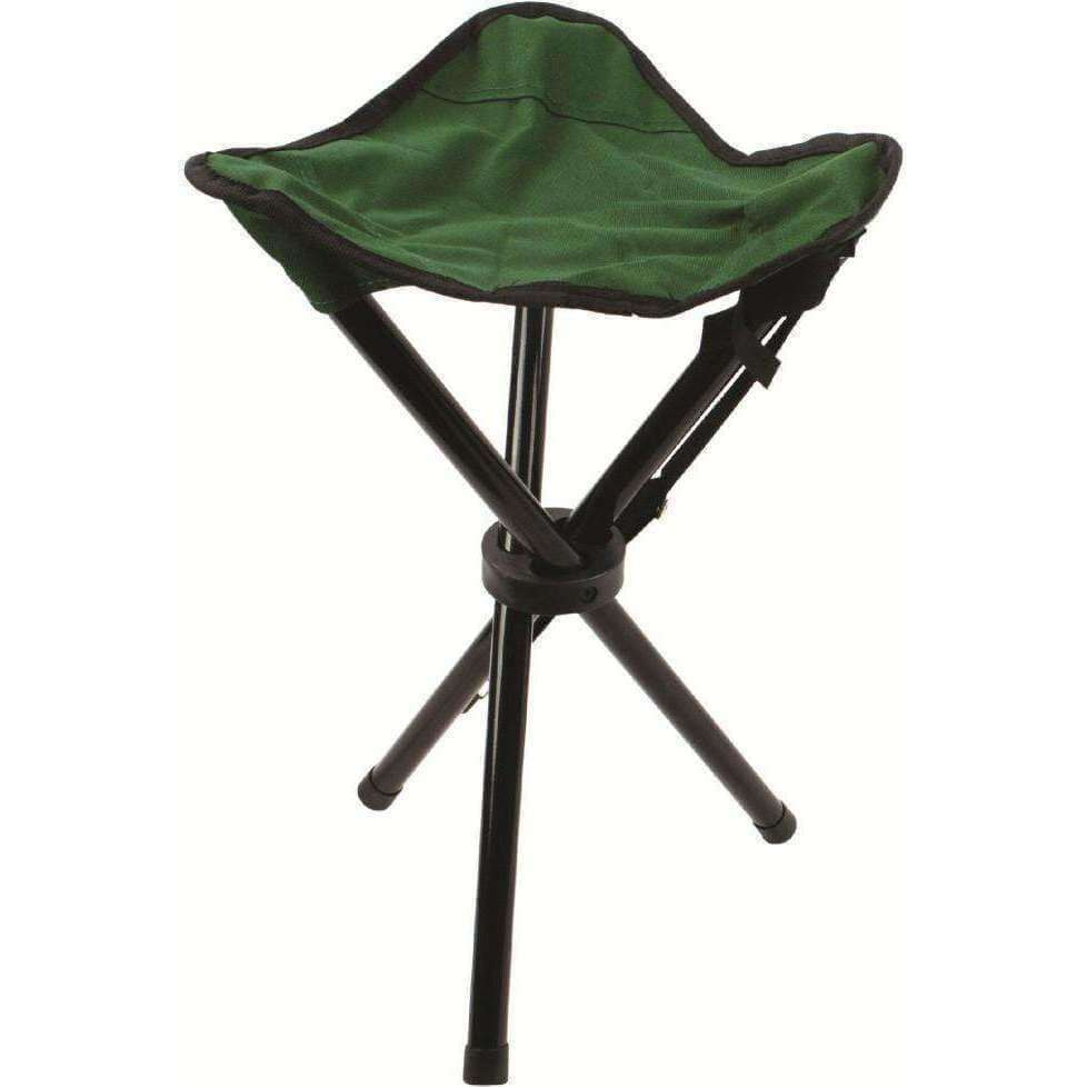 Highlander, Highlander Steel Tripod Stool, Chairs, Wylies Outdoor World,