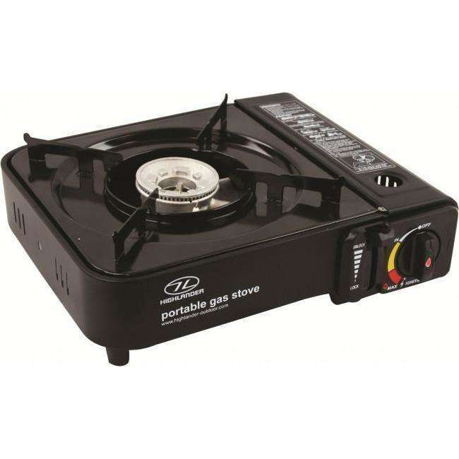 Highlander, Portable Cooker Metallic Black, Cook Systems, Wylies Outdoor World,
