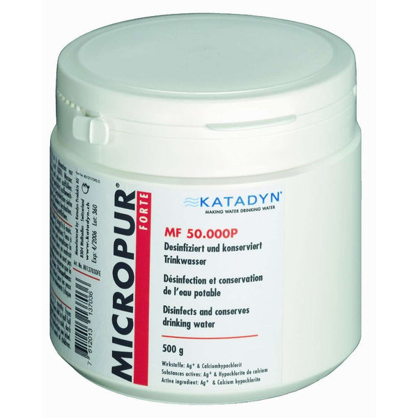 Katadyn, Katadyn Micropur Forte Purification Powder, Water Purification,Wylies Outdoor World,