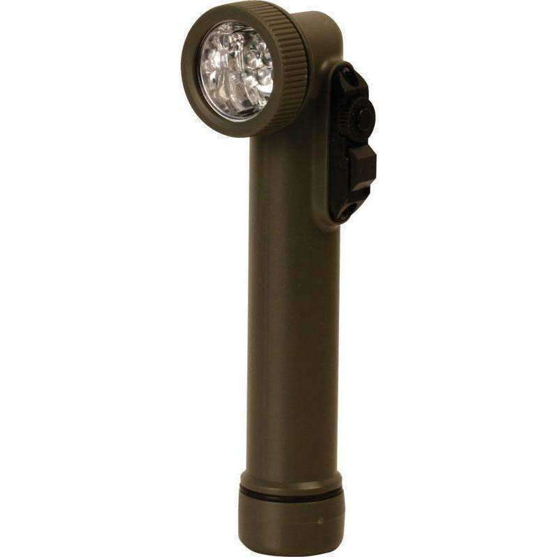 Kombat UK, 6 LED Angle Torch & Flashlight - Olive Green, Torches & Flashlights, Wylies Outdoor World,