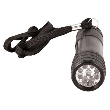 Kombat UK, 9 LED Tactical Torch, Torches & Flashlights, Wylies Outdoor World,