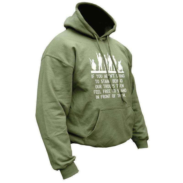 Kombat UK, Behind Troops Hoodie, Fleeces, Jumpers & Hoddies, Wylies Outdoor World,