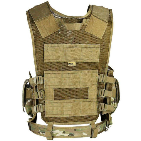Kombat UK, Cross Draw Tac-Vest, T-Shirts, Shirts & Vests, Wylies Outdoor World,