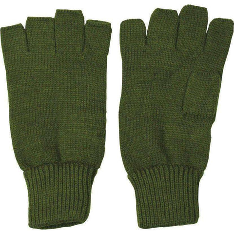 Kombat UK, Fingerless Gloves - Olive Green, Gloves/Socks, Wylies Outdoor World,