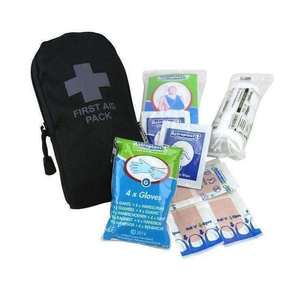 Kombat UK, First Aid Kit - Black, First Aid Kits, Wylies Outdoor World,