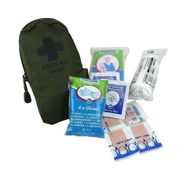 Kombat UK, First Aid Kit - Olive Green, First Aid Kits, Wylies Outdoor World,