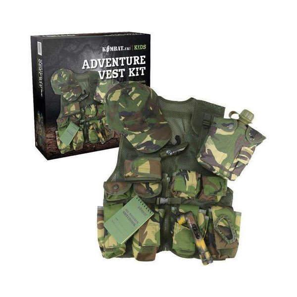 Kombat UK, Kids Adventure Vest Set, T-Shirts, Shirts & Vests,Wylies Outdoor World,