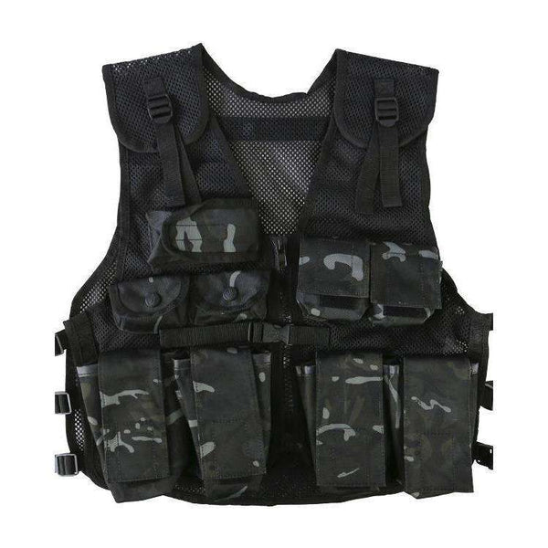 Kombat UK, Kids Assault Vest & Helmet Set, T-Shirts, Shirts & Vests, Wylies Outdoor World,