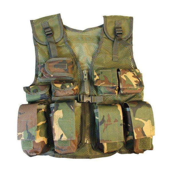 Kombat UK, Kids Assault Vest, T-Shirts, Shirts & Vests,Wylies Outdoor World,