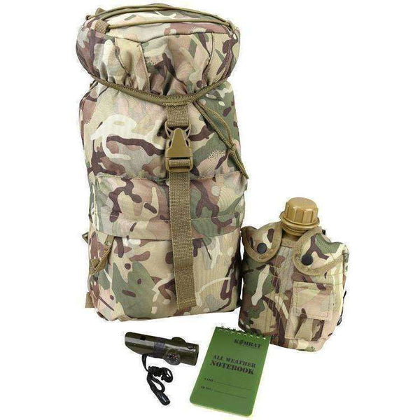 Kombat UK, Kids Patrol Pack Set, Rucksacks/Packs,Wylies Outdoor World,