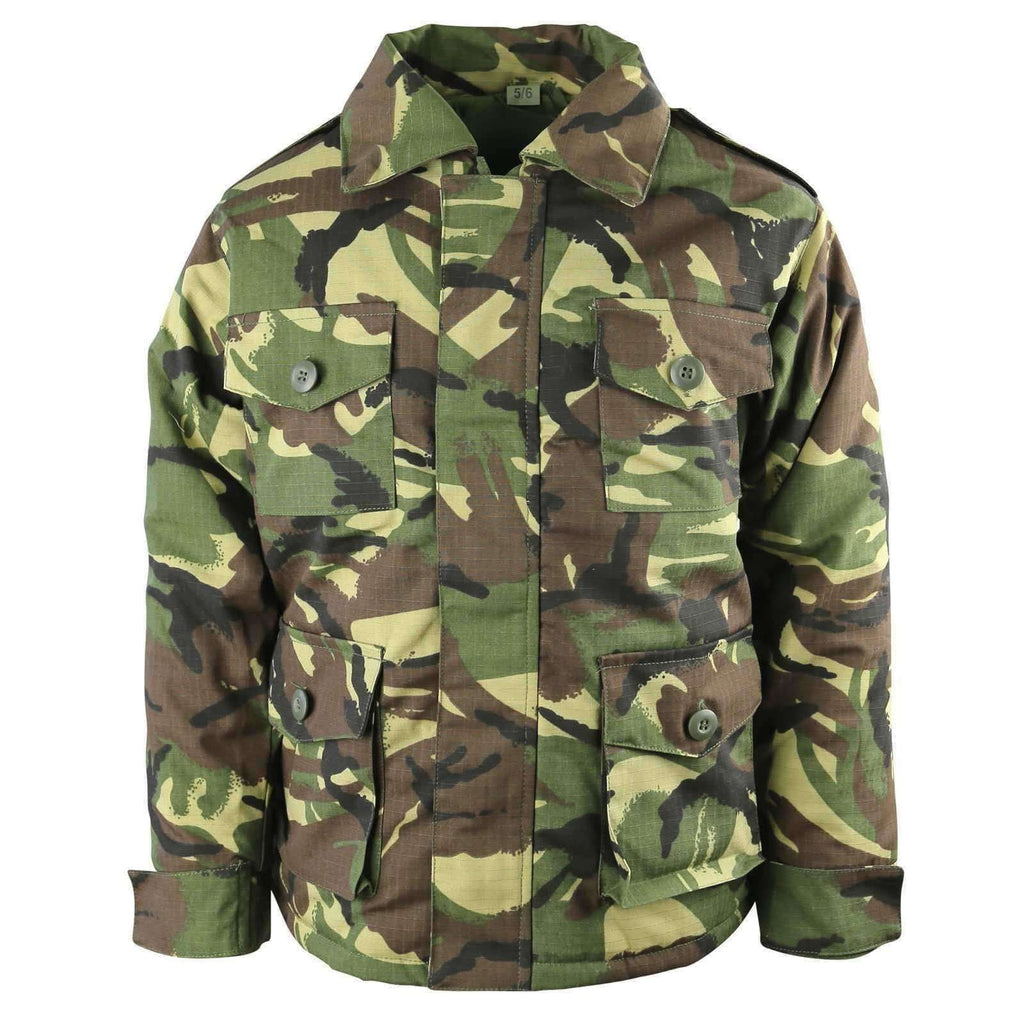 Kombat UK, Kids Safari Jacket - DPM, Clothing/Footwear,Wylies Outdoor World,