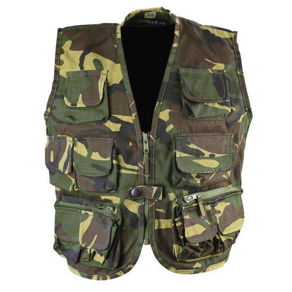 Kombat UK, Kids Tactical Vest - DPM, Kids Clothing,Wylies Outdoor World,