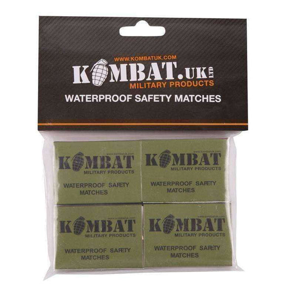 Kombat UK, Kombat UK - Waterproof Matches, Fire Lighting, Wylies Outdoor World,