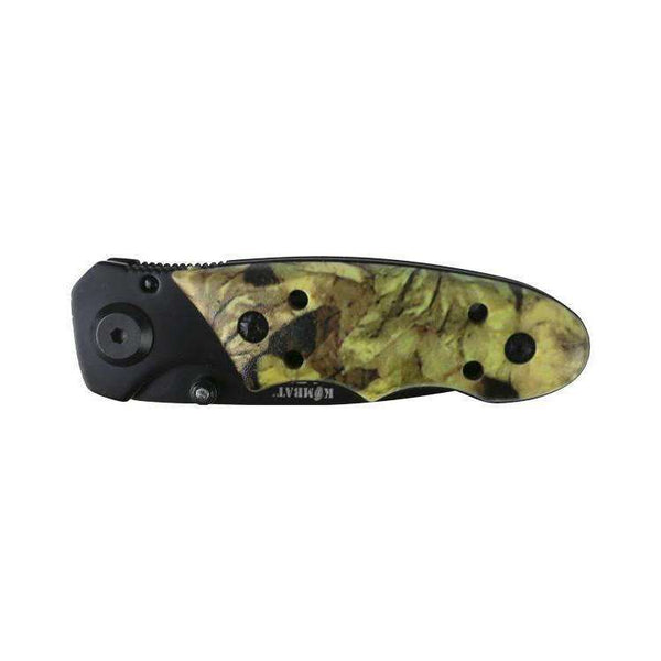 Kombat UK, Kombat UK Camo Mini Lock Knife, Folding Knives, Wylies Outdoor World,