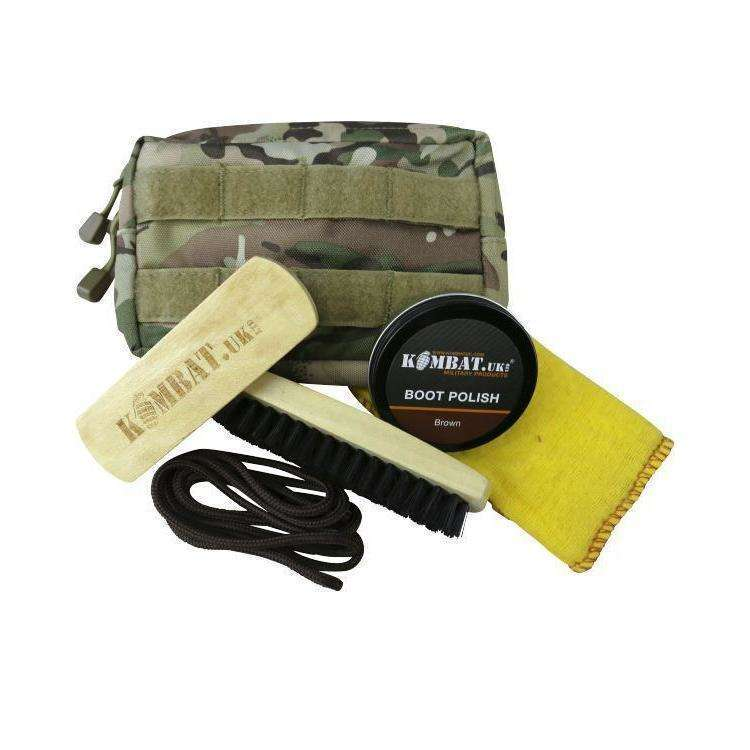 Kombat UK, Kombat UK Deluxe Molle Boot Care Kit, Boot Care,Wylies Outdoor World,