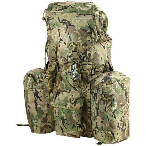 Kombat UK, Kombat UK Full Size PLCE System 120 Litre, Rucksacks/Packs,Wylies Outdoor World,