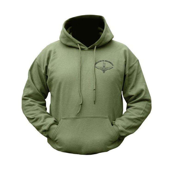 Kombat UK, Parachute Regiment Hoodie, Fleeces, Jumpers & Hoddies,Wylies Outdoor World,