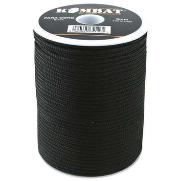 Kombat UK, Paracord - 100m Reel, Cordage,Wylies Outdoor World,