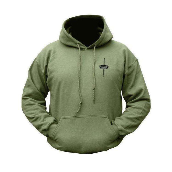 Kombat UK, Royal Marines Commando Hoodie, Fleeces, Jumpers & Hoddies,Wylies Outdoor World,