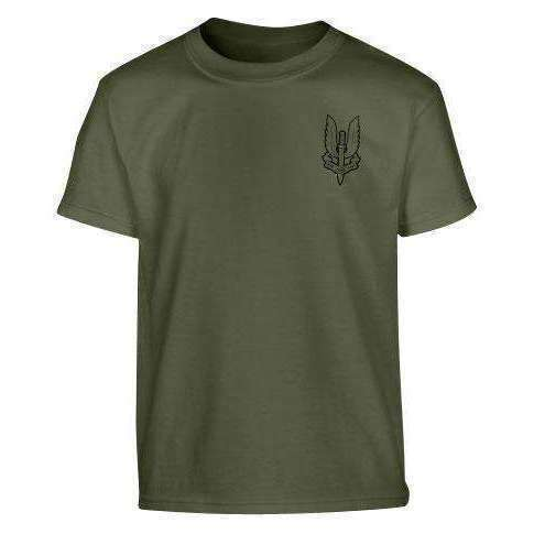 Kombat UK, SAS T-shirt - Olive Green, T-Shirts, Shirts & Vests, Wylies Outdoor World,